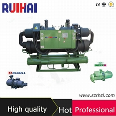High Efficient Flooded Type Screw Water Chiller
