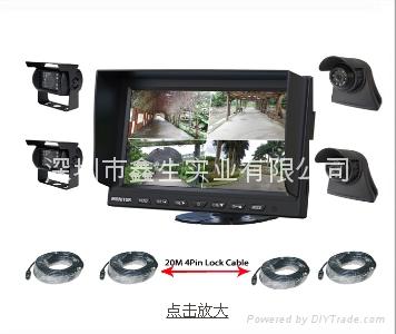9寸卡车安防监视系统 1