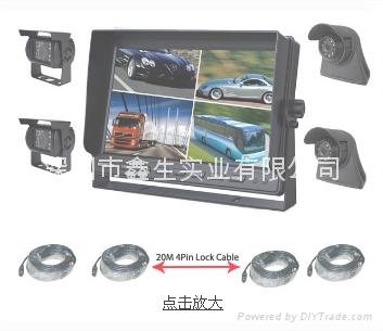 10.1寸卡车安防监视系统 1