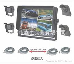 10.1寸卡车安防监视系统