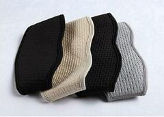 Embossed neoprene self-heating cervical support belt neck brace