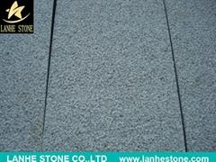 China Local Black Granite Seasame Black G654 Granite Polished Long Slab