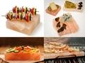 Himalayan salt cooking bricks blocks tray dishes tiles plates.