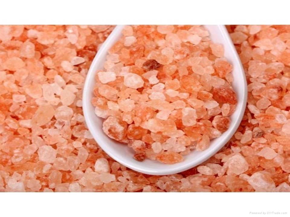 Granulate Pink Salt Granulate White Rock Salt 4