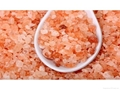 Granulate Pink Salt Granulate White Rock Salt