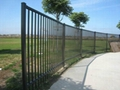 Euro Style Free Standing Metal Palisade Fence  Panel Hot Sale