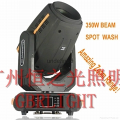 供應350W光束圖案染色燈
