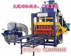 模震砌塊成型機制磚機DDJX-QM4-20A型