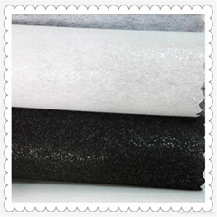 free samples polyester nonwoven 1025HF fusible interlining fabric for embroidery