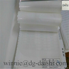 nonwoven interlining Embroidery backing glue film hot melt adhesive for patch