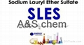 SLES-Chinese good chemical detergent