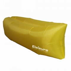 Eleisure™ Outdoor Inflatable Lounger Nylon Fabric Beach Lounger
