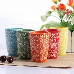 Colorful Ceramic Cups