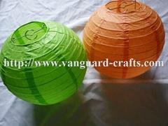 round paper lanterns even ribbing lanterns round lanterns colour lanterns paper