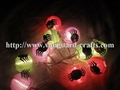 hallowee lantern LED decoration string lights color string lights lantern  5