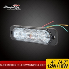 ECE SAE approved super slim warning lighting strobe light
