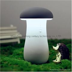廠家供應蘑菇燈集臺燈移動電源