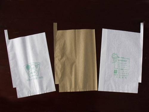 China Supply Food Grade Custom Made Paper Fruit Harvest Bag for Mango, Grape Pop 1