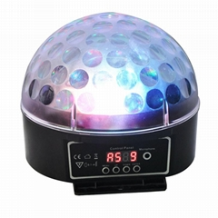 6pcs* 3W LED Crystal Magic Ball