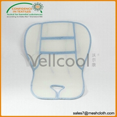 Breathable 3d baby car seat cover