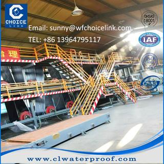 sbs bitumen waterproofing membrane production line 1