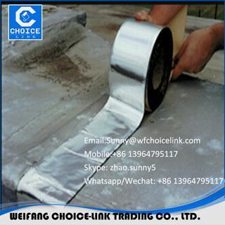 aluminum foil self adhesive bitumen tape 2