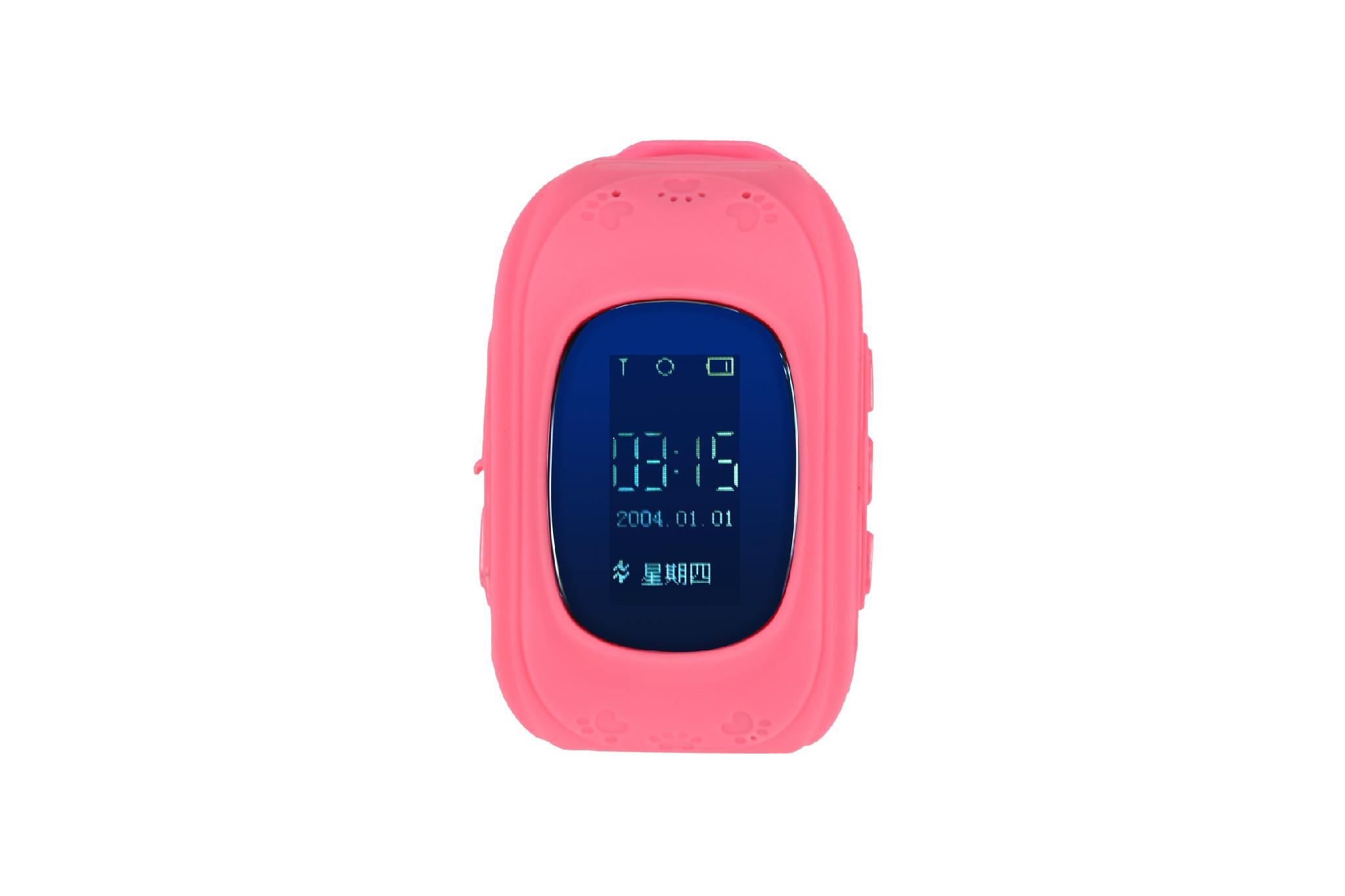 Kids gsm gps tracker watch kids cell phone watch q50 1