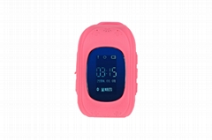 Kids gsm gps tracker watch kids cell