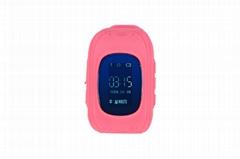 Kids gsm gps tracker watch kids cell phone watch q50