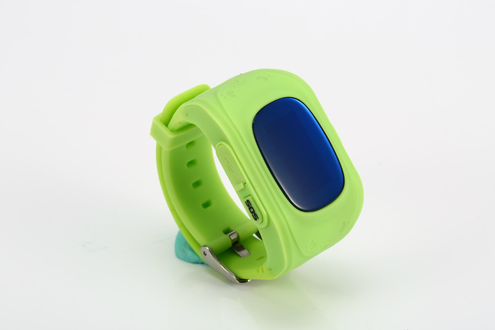 Kids gsm gps tracker watch kids cell phone watch q50 3