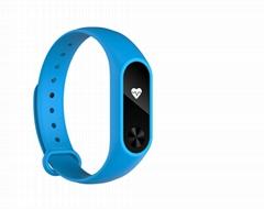 Heart Rate Fitness Monitor Smart wristband OLED Display like Xiaomi Mi Band 2