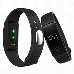 Bluetooth Smart Wristband with Heart Rate Monitor