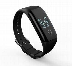 fitness tracker smart bracelet heart rate monitor band