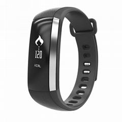 Waterproof Selfie Ring Pulse Oximeter Blood Pressure Monitor Fitness Tracker