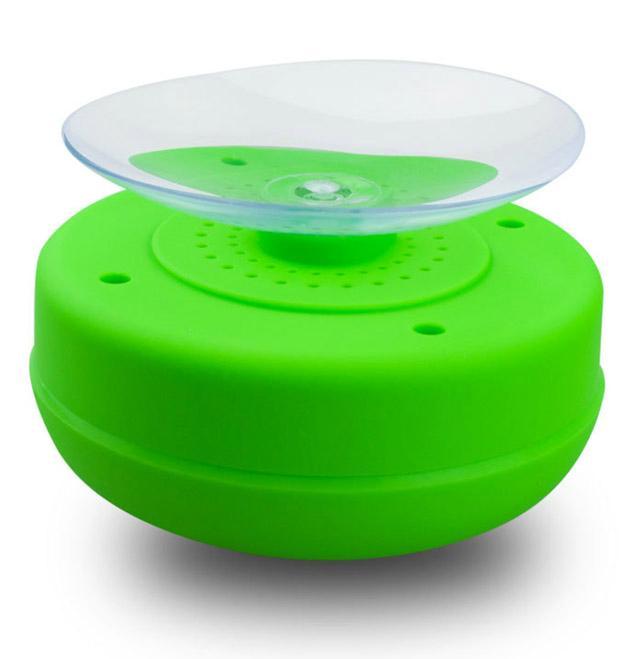 waterproof Handsfree wireless bathing portable bluetooth speaker Suction Cup 4