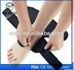 Neoprene Ankle Support With Silicone Pad
