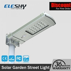 Waterproof Outdoor Integrated Solar Garden Lamp With Motion Sensor
