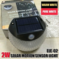 Garden Wall Led Waterproof Outdoor Solar Sensor Light With Cheap Price