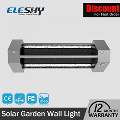 2016 New prodcuts PIR Sensor Integrated LED all in one led solar wall lights