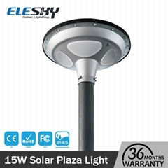 ip65 Shenzhen LED factory high quality solar plaza light