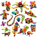 Bunches400+ pieces Mega Pack Accessories DIY Assembling Blocks Educational Toy S 2