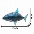 Air swimming fish遙控充氣飛魚 3