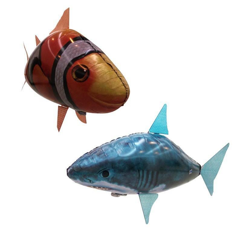 Air swimming fish遙控充氣飛魚 4