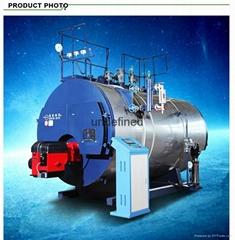 2 ton 食品工厂用的燃气蒸汽锅炉