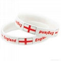 Gifts Party Favors Thin Silicone Wristbands Rubber Bracelets 1