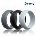 Mens Silicone Wedding Ring Band for