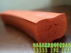 耐高温硅胶发泡密封条