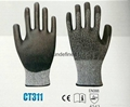 Cut Resistance 3/5 PU safety glove