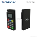 Portable POS Terminal with NFC Reader Bluetooth Card Reader with PIN PAD 2