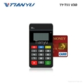 Portable POS Terminal with NFC Reader Bluetooth Card Reader with PIN PAD 5
